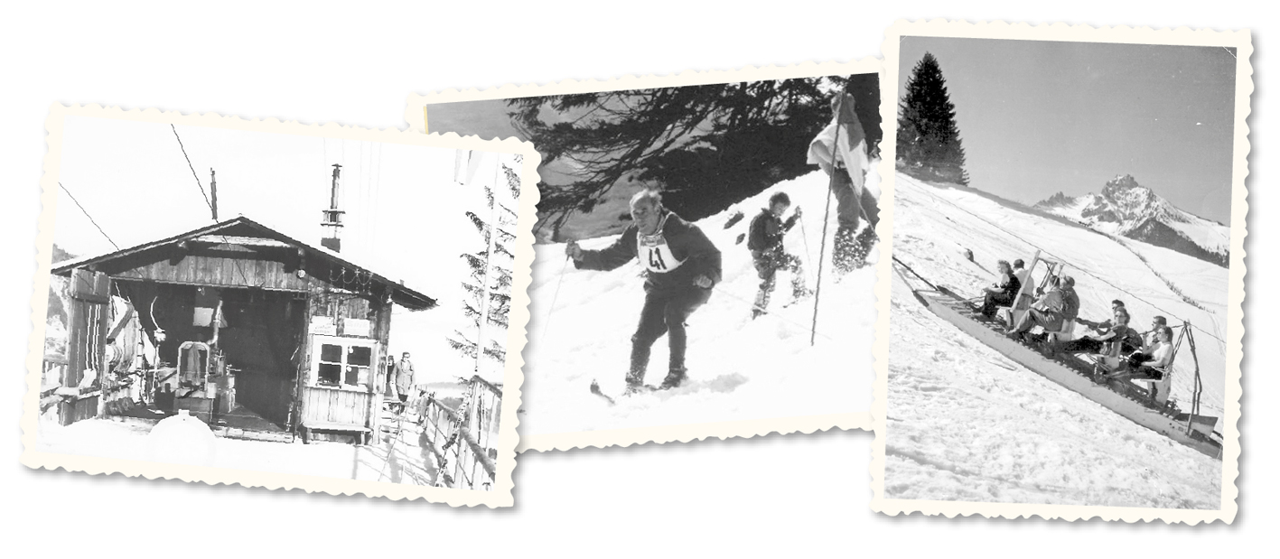 """""""Nur wer auf der Bazora das Schifahren erlernt hat, kann wirklich Schifahren"""", behaupten eingefleischte Frastanzer. Der steile Hang zieht seit mehr als 90 Jahren die Wintersportler an. Dies ist das Verdienst von einigen Pionieren und Enthusiasten - bis heute."""