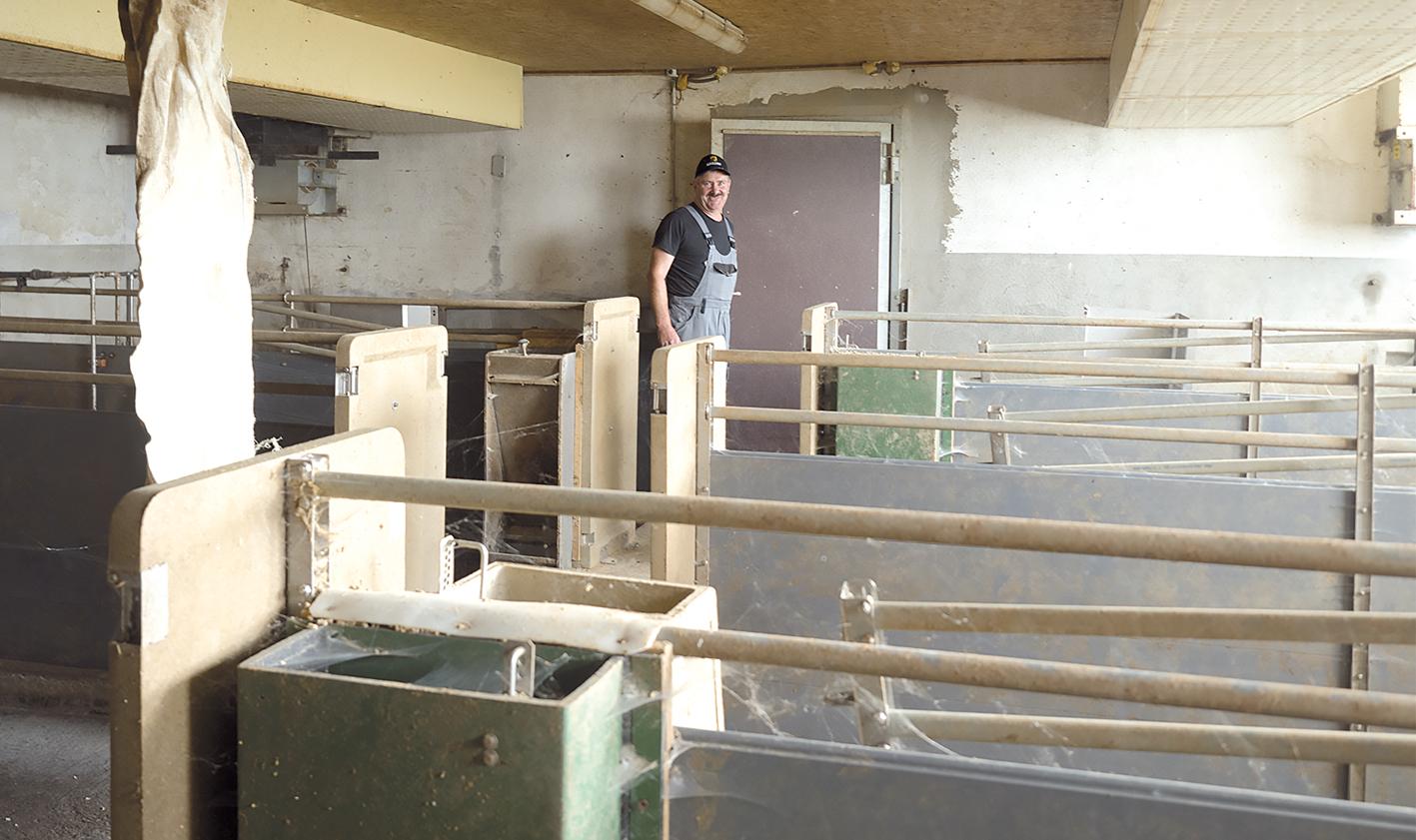 Heimisches Schweinefleisch fand zu wenig Absatz. Christoph Mähr hat umsonst in einen Stall investiert.