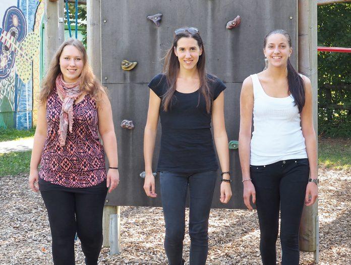 Wenn in den Walgauer Kindergärten Not an der Frau ist, rücken Elisabeth Bargehr, Vanessa Tomasini und Natalie Witwer (v.l.) an. Seit Beginn dieses Schuljahrs sind die drei als Regionale Kindergartenpädagoginnen - je nach Bedarf - in verschiedenen Gemeinden im Einsatz.