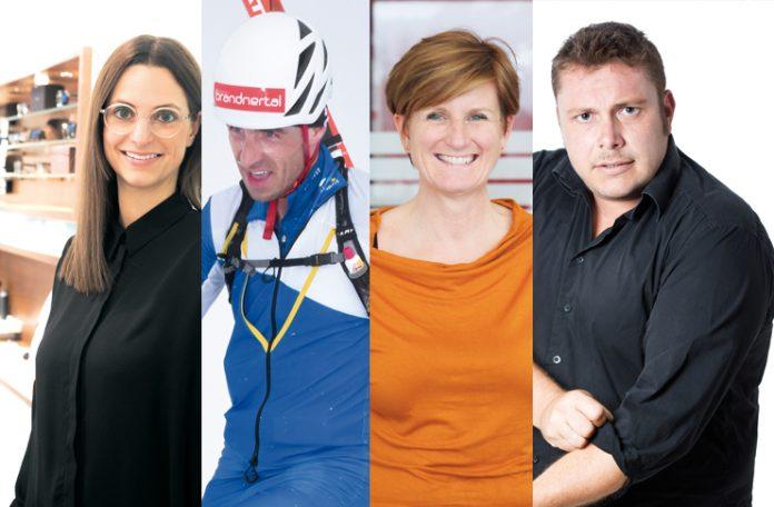 v.l.: Jennifer Bitsche, Patrick Innerhofer, Sabine Tichy-Treimel, Martin Weinzerl