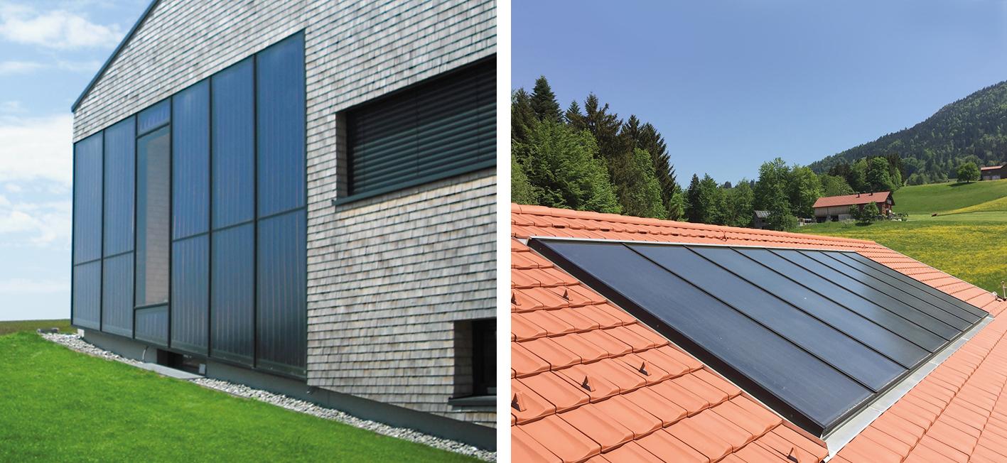 Indach, Aufdach oder Fassadenintegration: Die Experten von SST liefern PV und thermische Solaranlagen nach Maß.