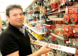 Stefan Grass, Mitglied des Geschäftsführungs-Quartetts von Ammannbau und für die Bereiche Wohnbau, Baufachhandel und Baumarkt.