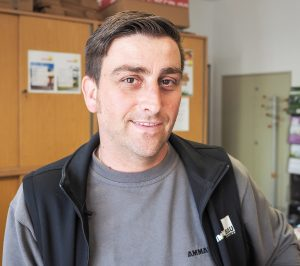 Marco Ganahl, Leiter des Baumärktles