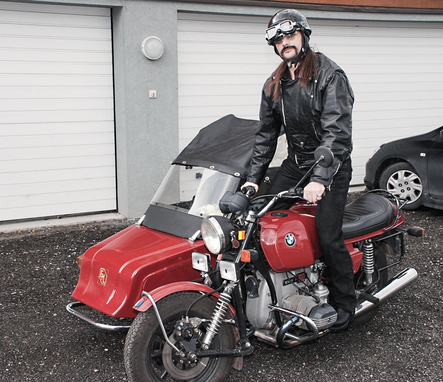 Seit fast 30 Jahren ist Wolfgang Sila begeisterter Motorradfahrer.
