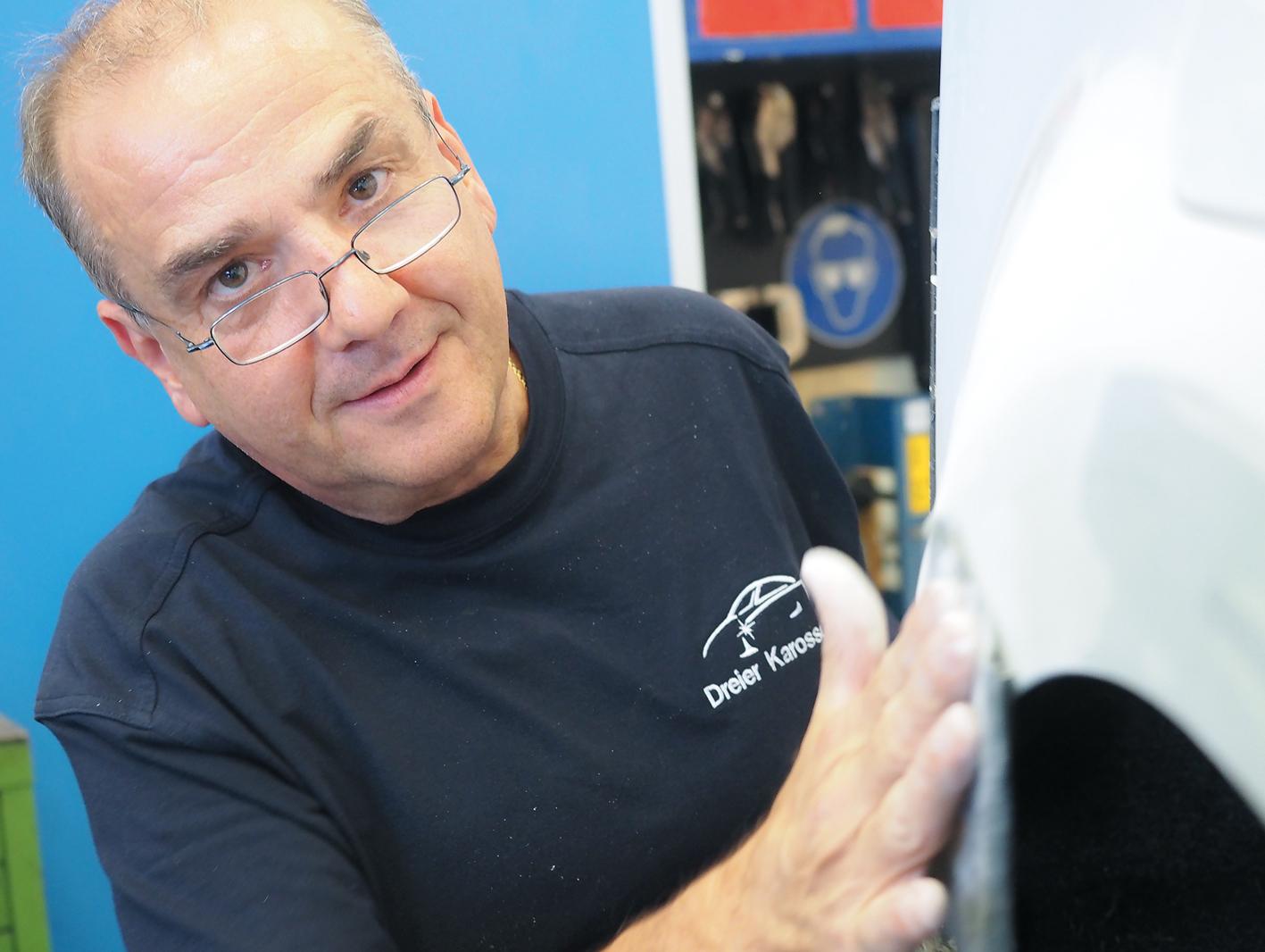Bernd Neyer arbeitet gern mit seinem ehemaligen Musterschüler Christoph Dreier zusammen.