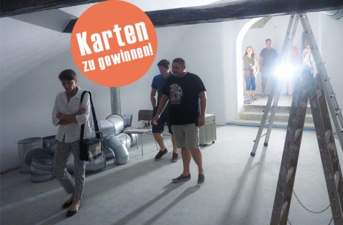 "Beim Fotoshooting Anfang August war das ""Kellertheater im Walgau"" schon fast fertig..."