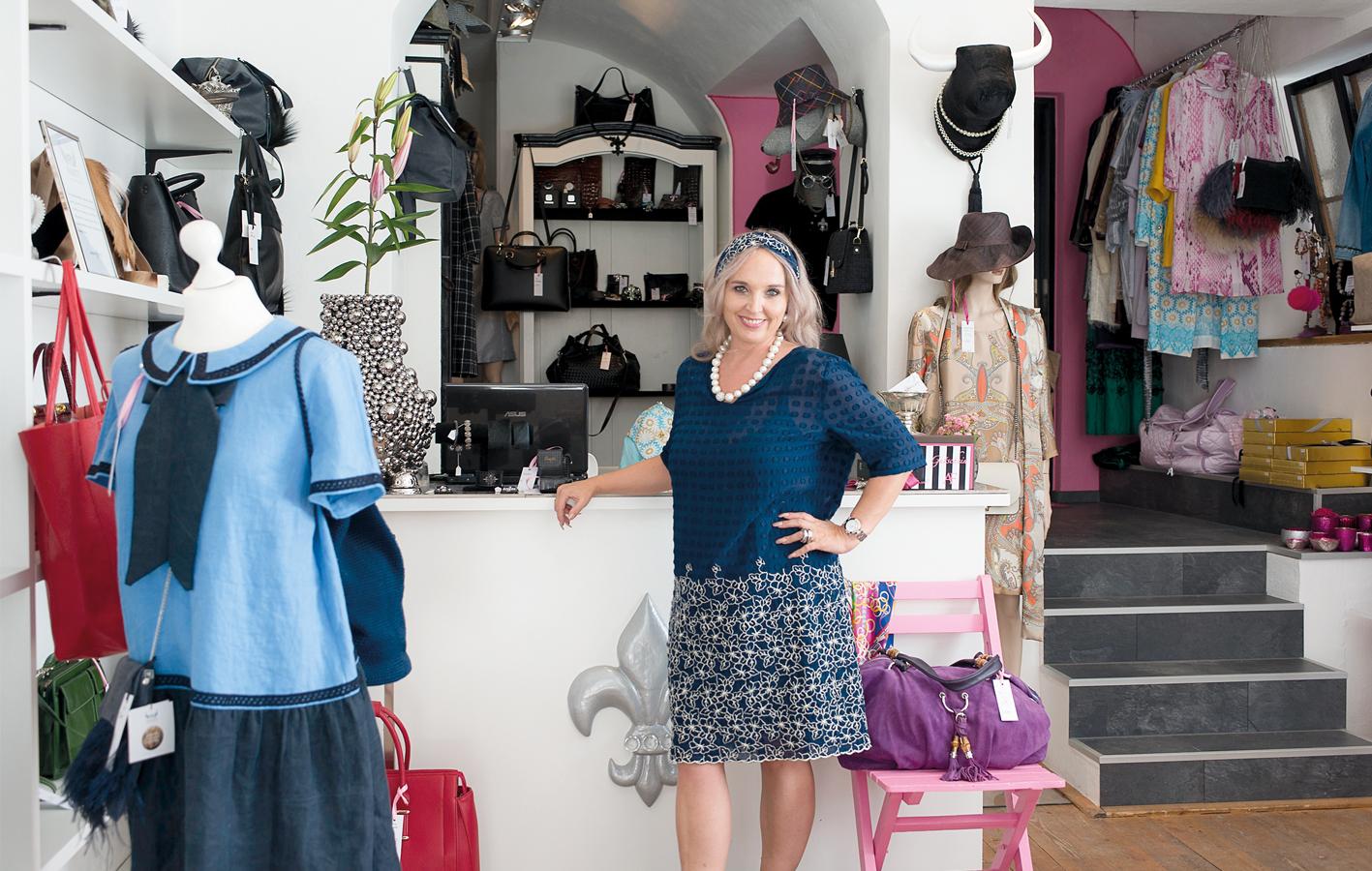 """""""Ariane Felice"""" verkauft nur Dinge, die sie selbst auch gerne tragen würde."""