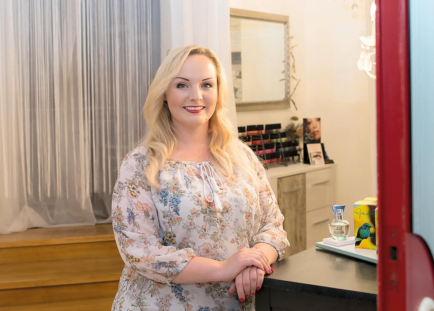 Angelika Schuchter vom Kosmetikstudio Schneewittchen.